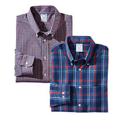 MIX & MATCH BROOKS BROTHERS LONG-SLEEVE SPORT SHIRTS