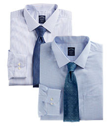 MIX & MATCH LONG-SLEEVE DRESS SHIRTS BROOKS BROTHERS