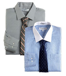 MIX & MATCH LONG-SLEEVE DRESS SHIRTS ENRO $75