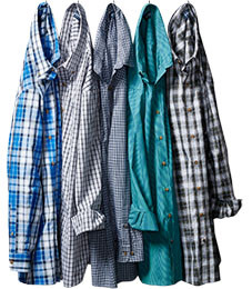 MIX & MATCH  LONG-SLEEVE SHIRTS EASY-CARE, PILOT & COPILOT