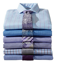 MIX & MATCH LONG-SLEEVE DRESS SHIRTS
