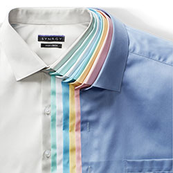 MIX & MATCH GEOFFREY BEENE, GOLD SERIES AND SYNRGY DRESS SHIRTS