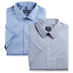 MIX & MATCH GOLD SERIES AND SYNRGY SHORT SLEEVE DRESS SHIRTS