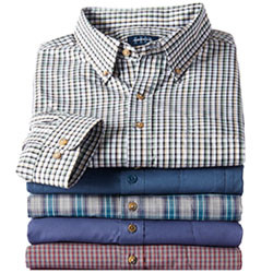 MIX & MATCH EASY-CARE, PILOT & COPILOT LONG-SLEEVE SHIRTS