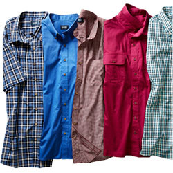 MIX & MATCH EASY-CARE, PILOT & COPILOT SHORT-SLEEVE SHIRTS