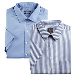 MIX & MATCH GOLD SERIES & SYNRGY SHORT SLEEVE DRESS SHIRTS