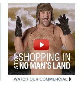 STOP SHOPPING IN NO MAN'S LAND | WATCH OUR COMMERCIAL