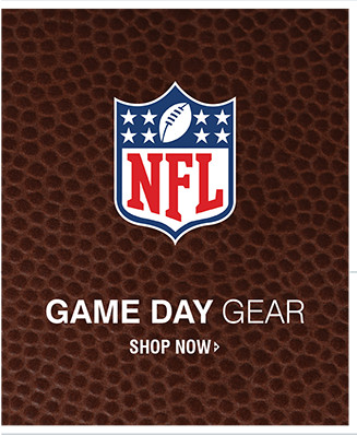 NFL | GAME DAY GEAR | SHOP NOW