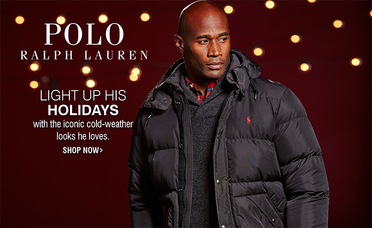 Polo Ralph Lauren | LIGHT UP HIS HOLIDAYS | with the iconic cold-weather looks he loves. | SHOP NOW