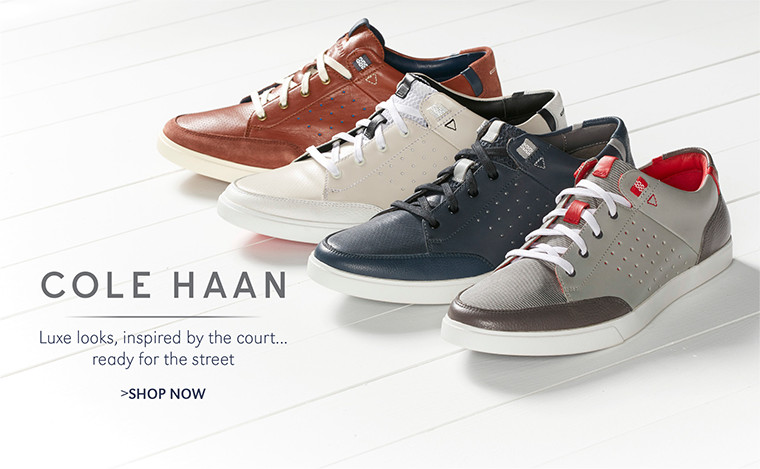 Cole Haan | Luxe looks, inspired by the court... ready for the street | SHOP NOW