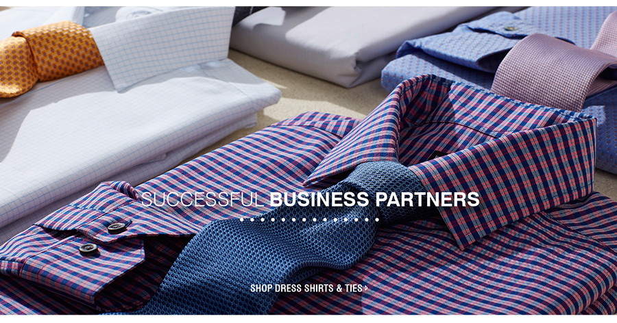SHOP DRESS SHIRTS & TIES
