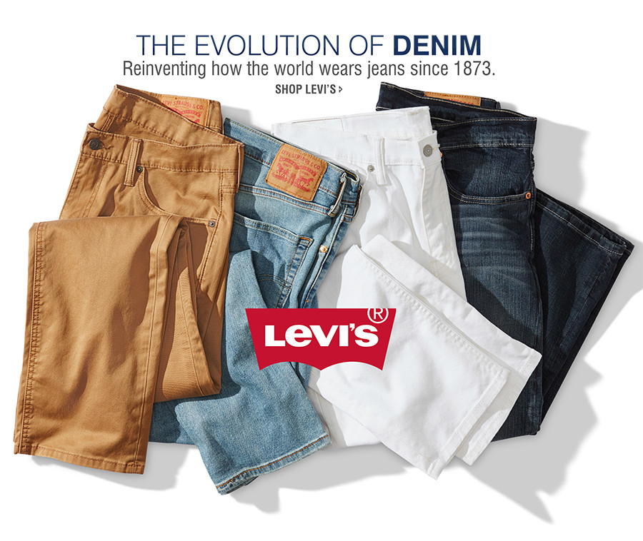 THE EVOLUTION OF DENIM | Reinventing how the world wears jeans since 1873. | SHOP LEVI'S