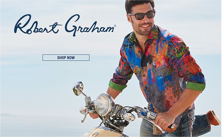 ROBERT GRAHAM | Robert Graham shirts are wearable works of art that make a standout statement. | SHOP NOW