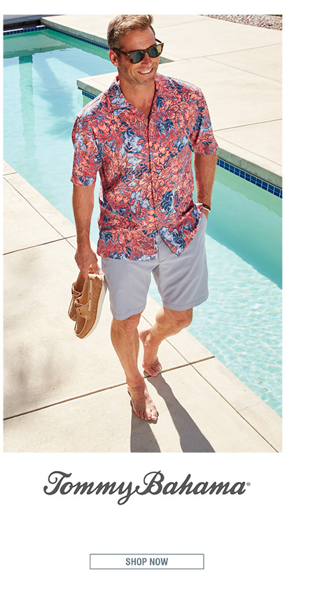 TOMMY BAHAMA | Tommy Bahama encourages you to live life like it's one, long, relaxed weekend. | SHOP NOW