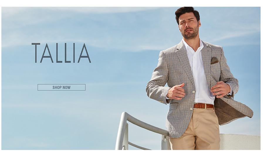 TALLIA | Tallia designs distinctive sport coats with a less serious attitude. | SHOP NOW