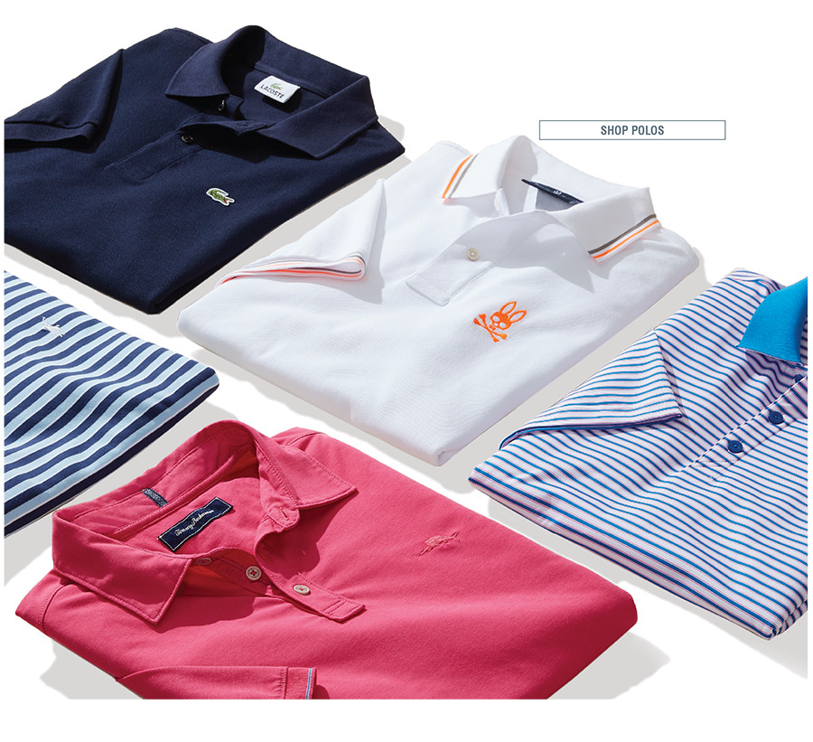 Iconic polos to suit every guy's style, from classic to cutting-edge. | SHOP POLOS
