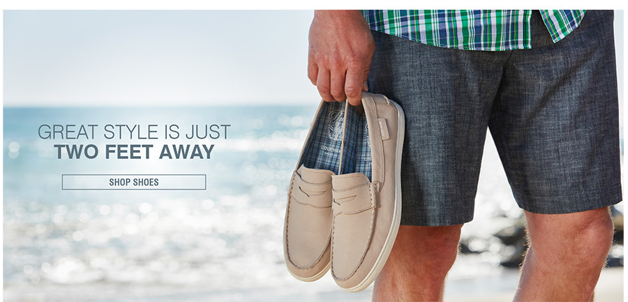 GREAT STYLE IS JUST TWO FEET AWAY | SHOP SHOES