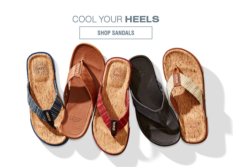 COOL YOUR HEELS | SHOP SANDALS