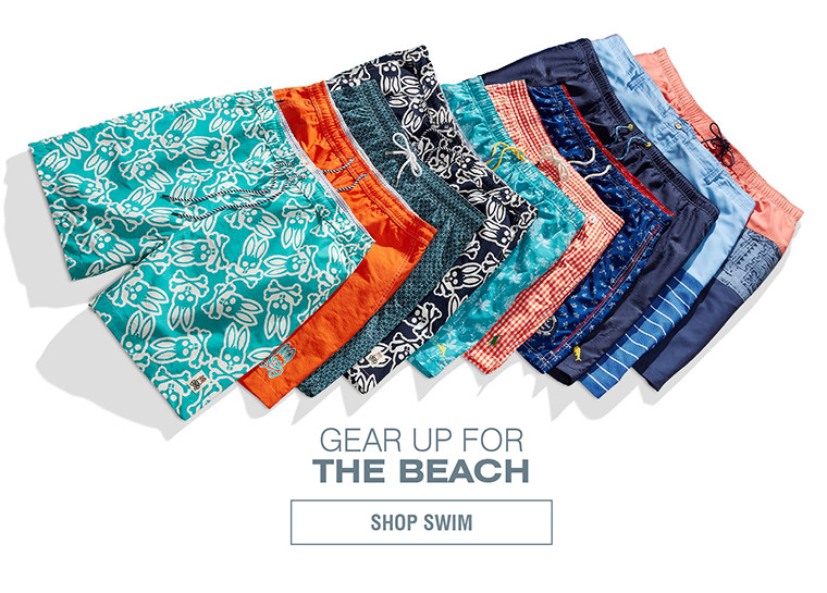GEAR UP FOR THE BEACH | SHOP SWIM