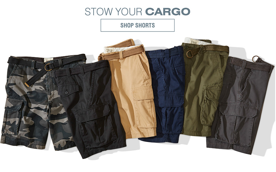 STOW YOUR CARGO | SHOP SHORTS