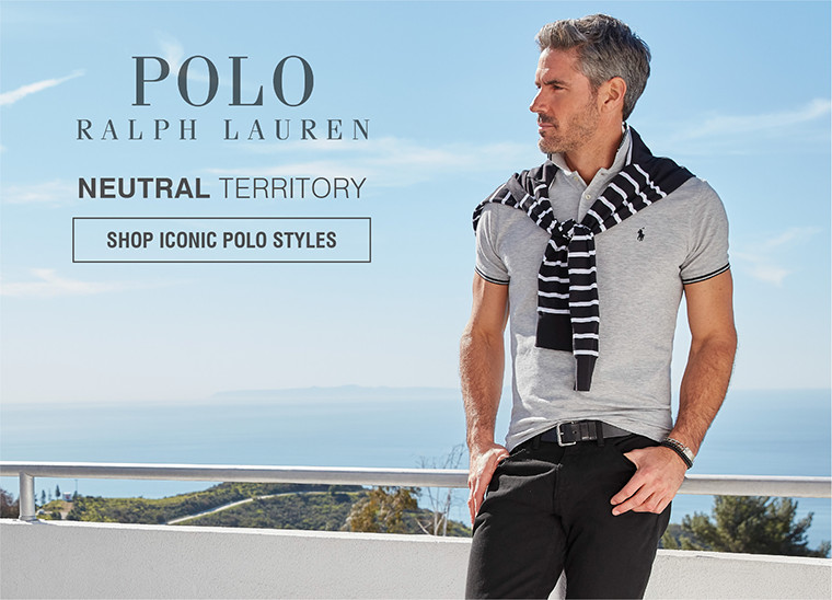 POLO RALPH LAUREN | NEUTRAL TERRITORY | SHOP ICONIC POLO STYLES