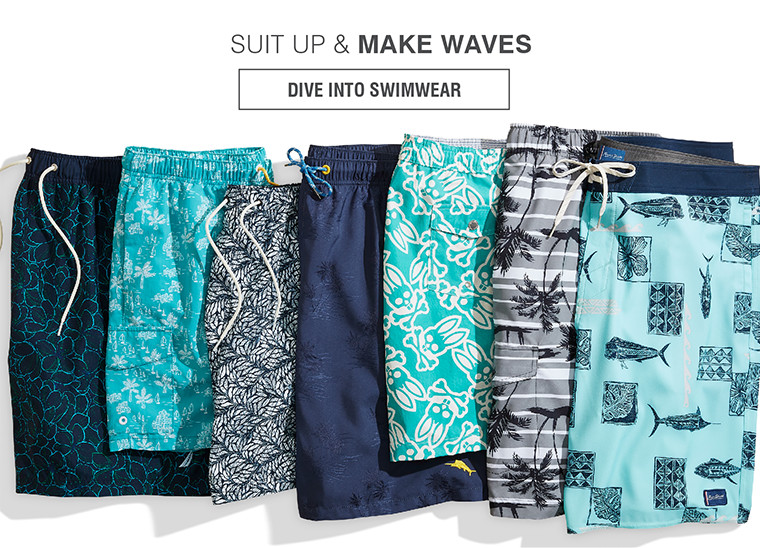 SUIT UP & MAKE WAVES | DIVE INTO SWIMWEAR