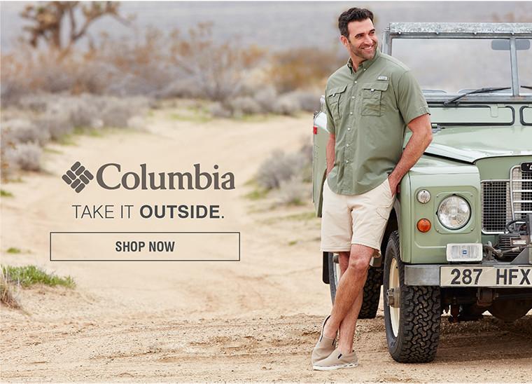 COLUMBIA | TAKE IT OUTSIDE. | SHOP NOW
