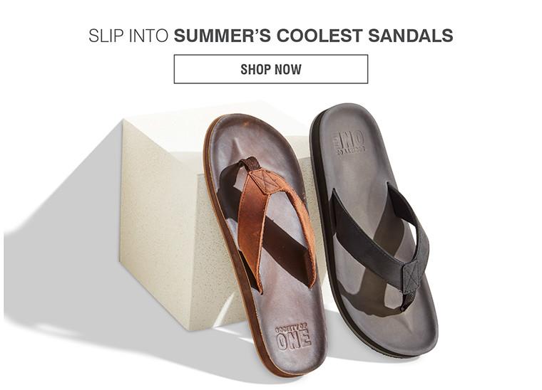 SLIP INTO SUMMER'S COOLEST SANDALS | SHOP NOW