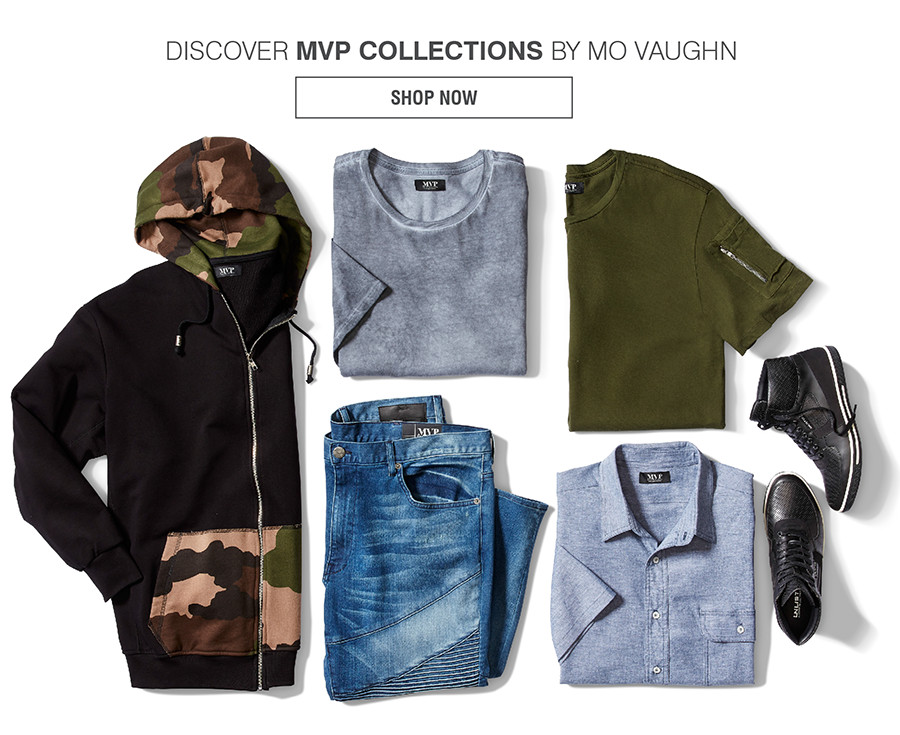DISCOVER MVP COLLECTIONS BY MO VAUGHN | SHOP NOW