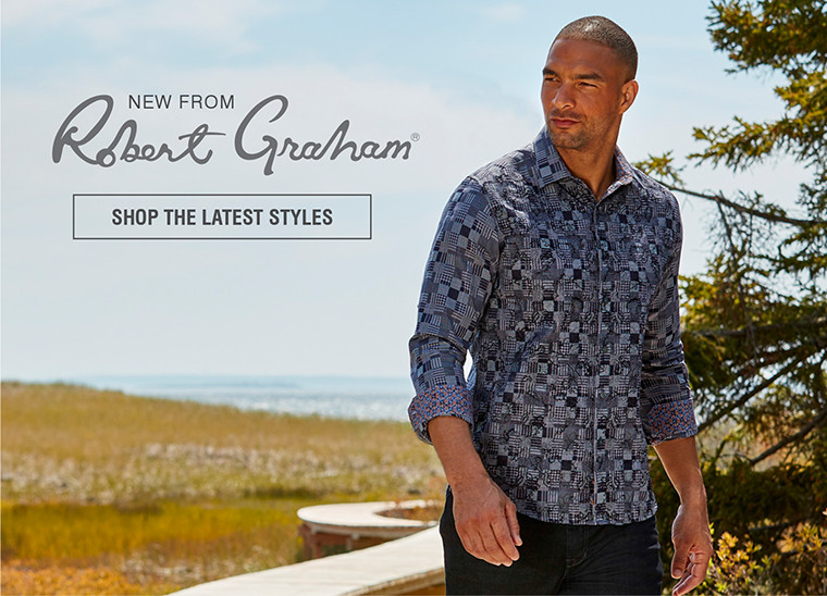NEW FROM ROBERT GRAHAM | SHOP THE LATEST STYLES