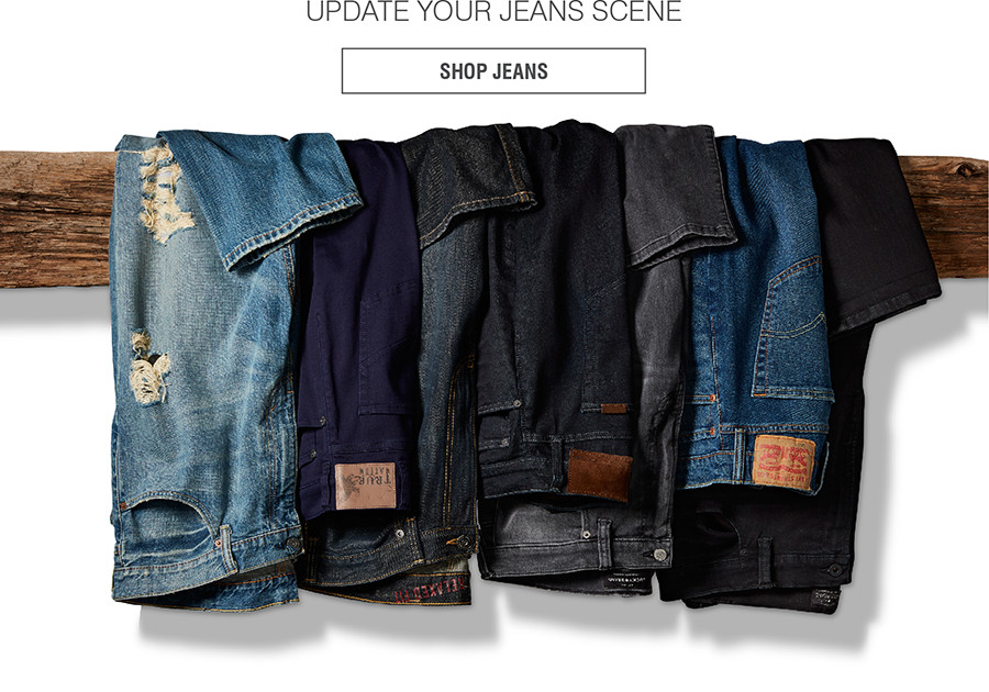 UPDATE YOUR JEANS SCENE | SHOP JEANS