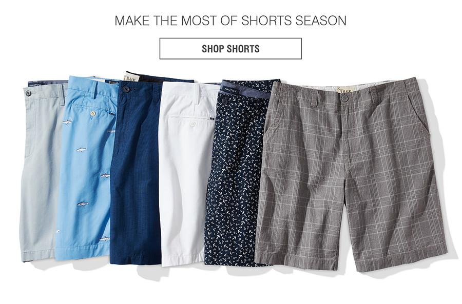 MAKE THE MOST OF SHORTS SEASON | SHOP SHORTS