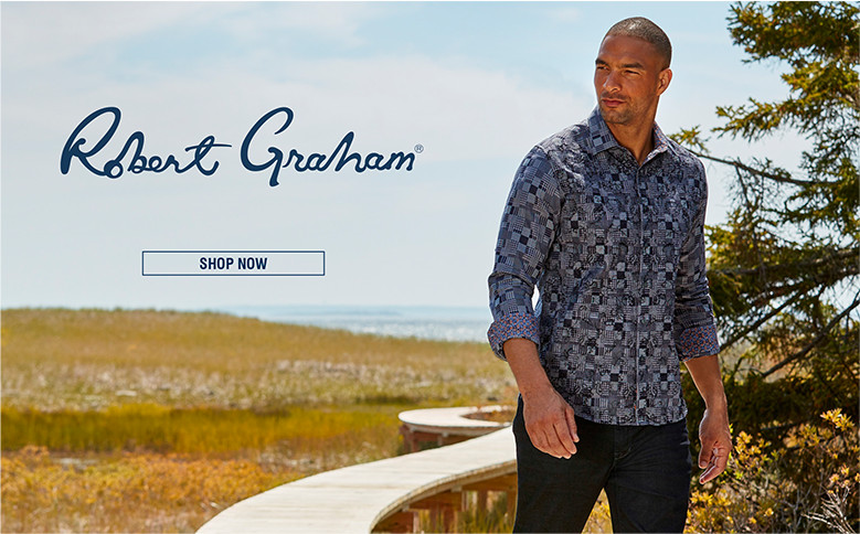 ROBERT GRAHAM | Robert Graham shirts are wearable works of art that make a standout statement. | SHOP NOW