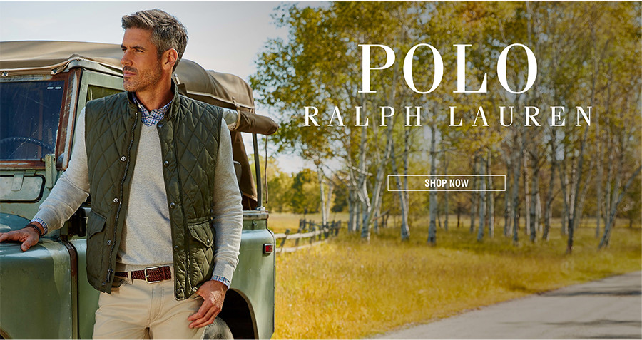 POLO RALPH LAUREN | Casual yet refined: Polo Ralph Lauren redefines classic American style. | SHOP NOW