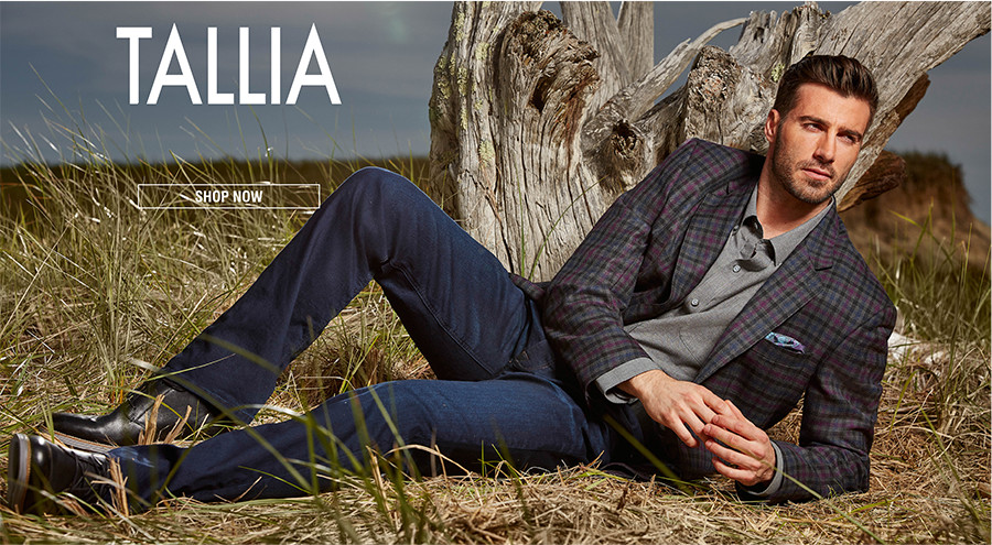 TALLIA | Tallia designs distinctive sport coats with a less serious attitude.