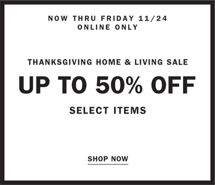 UP TO 50% OFF LIVINGXL THANKSGIVING SALE | SHOP NOW