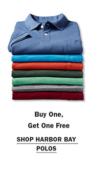 Shop Buy One Get One Free Harbor Bay Polos