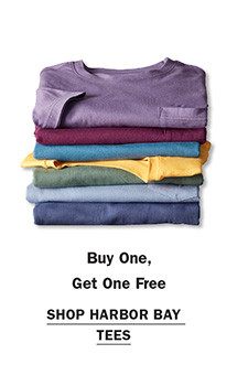Shop Buy One Get One Free Harbor Bay Tees
