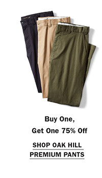 Shop Buy One Get One 75% Oak Hill Premium Pants