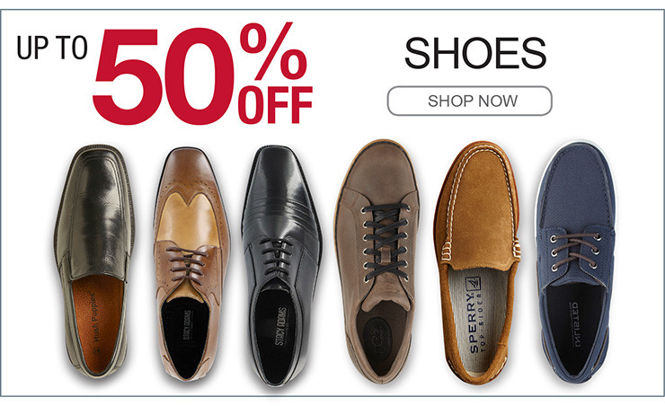 UP TO 50% OFF SHOES SHOP NOW></a> 		</td> 	</tr> </table> 	 <table width=