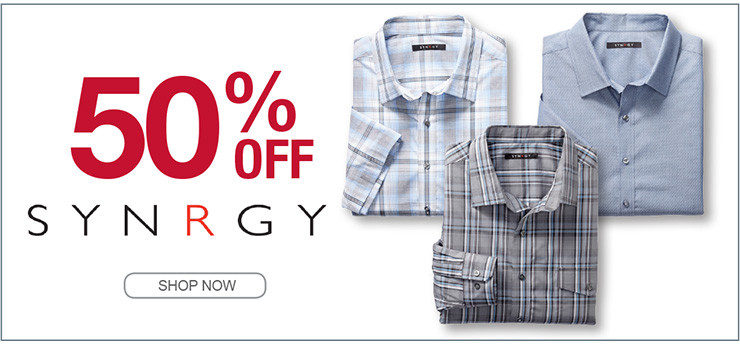 50% OFF SYNRGY SHOP NOW