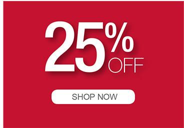 25% OFF SHOP NOW