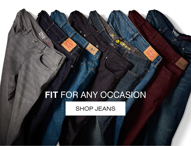 FIR FOR ANY OCCASION SHOP JEANS