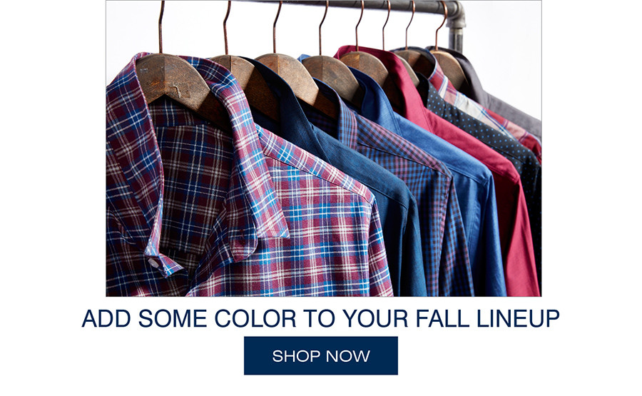 ADD SOME COLOR TO YOUR FALL LINE UP | SHOP NOW