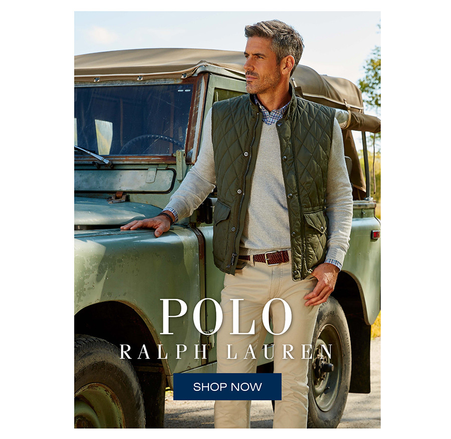 POLO RALPH LAUREN | SHOP NOW