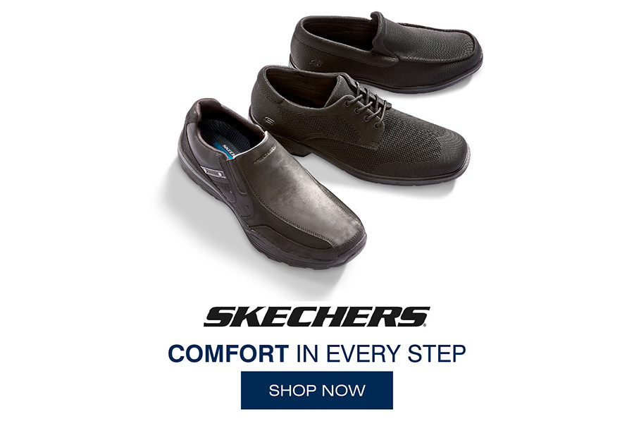 SKECHERS COMFORT IN EVERY STEP | SHOP NOW