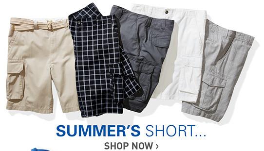 SUMMER'S SHORT | SHOP SHORTS