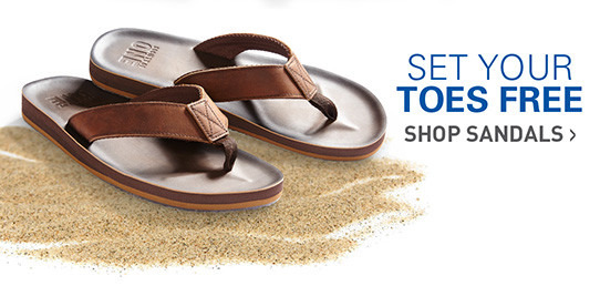 SET YOUR TOES FREE | SHOP SANDALS