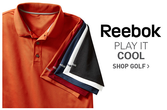 REEBOK | PLAY IT COOL | SHOP GOLF