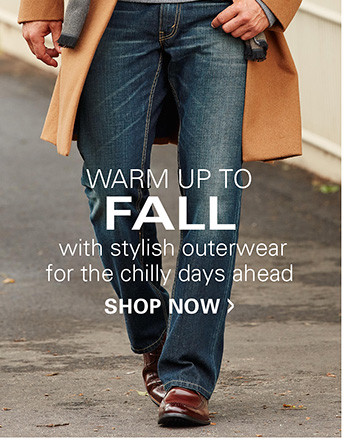 STYLISH OUTERWEAR FOR THE CHILLY DAYS AHEAD